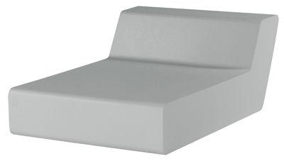 Arredamento - Mobili Ados  - Poltroncina Matrass Seat 75 di Quinze & Milan - Grigio chiaro - Schiuma di poliuretano