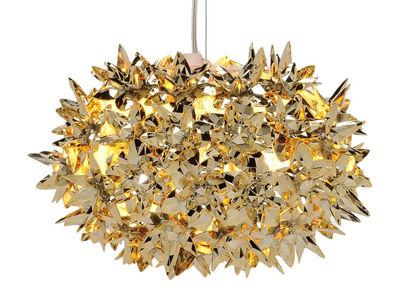 Illuminazione - Lampadari - Sospensione Bloom Bouquet - / Small Ø 28 cm - Metallizzato di Kartell - Or - Tecnopolimero termoplastico