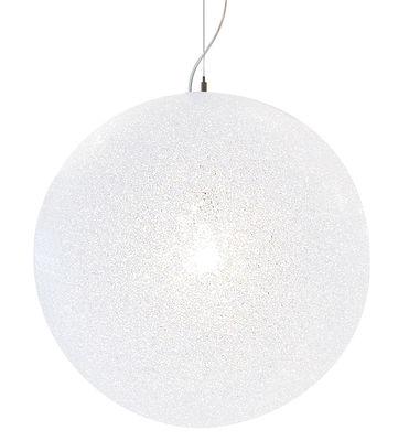 Suspension IceGlobe Ø 30 cm - Lumen Center Italia blanc en matière plastique