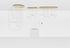 Suspension Unseen LED / 5 éléments - 180 x 73 cm - Petite Friture