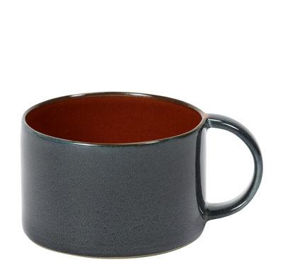 Tasse à café Terres de rêves / Grès - Serax bleu foncé en céramique