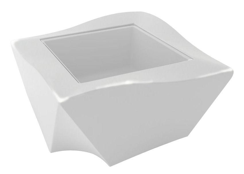 Arredamento - Tavolini  - Tavolino Kami Ni - versione laccata di Slide - Laccato bianco -