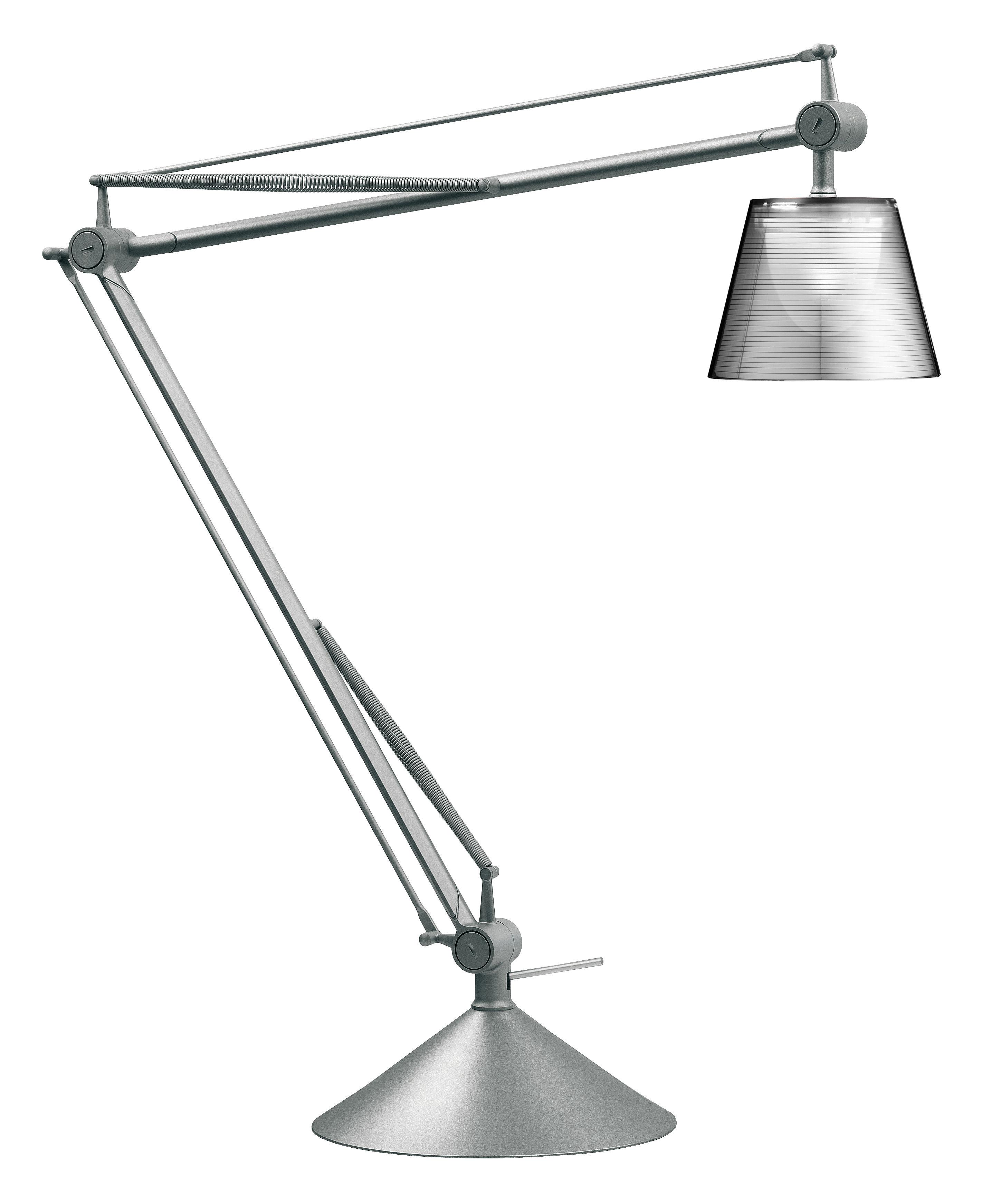 Leuchten - Tischleuchten - Archimoon K Tischleuchte - Flos - Transparent - Aluminium, Methacrylate