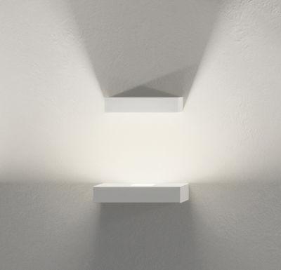 Illuminazione - Lampade da parete - Applique Set - LED / Set 2 moduli di Vibia - Bianco - metallo laccato, policarbonato