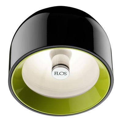 Luminaire - Appliques - Applique Wan / Plafonnier - Flos - Noir - Aluminium