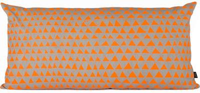 Déco - Coussins - Coussin Mountain / Large 80x40 cm - Ferm Living - Orange, Gris - Coton