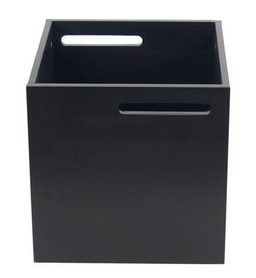 Furniture - Bookcases & Bookshelves - Crate - For Rotterdam bookshelf by POP UP HOME - Black - Painted MDF