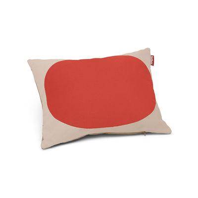 Decoration - Cushions & Poufs - Pop Pillow Cushion - / Cotton - 50 x 37.5 cm by Fatboy - Poppy - Cotton, Polypropylene fibre