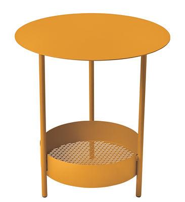 Guéridon Salsa / Ø 50 x H 50 cm - Fermob miel en métal