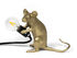 Lampe de table Mouse Sitting #2 / Souris assise - Seletti