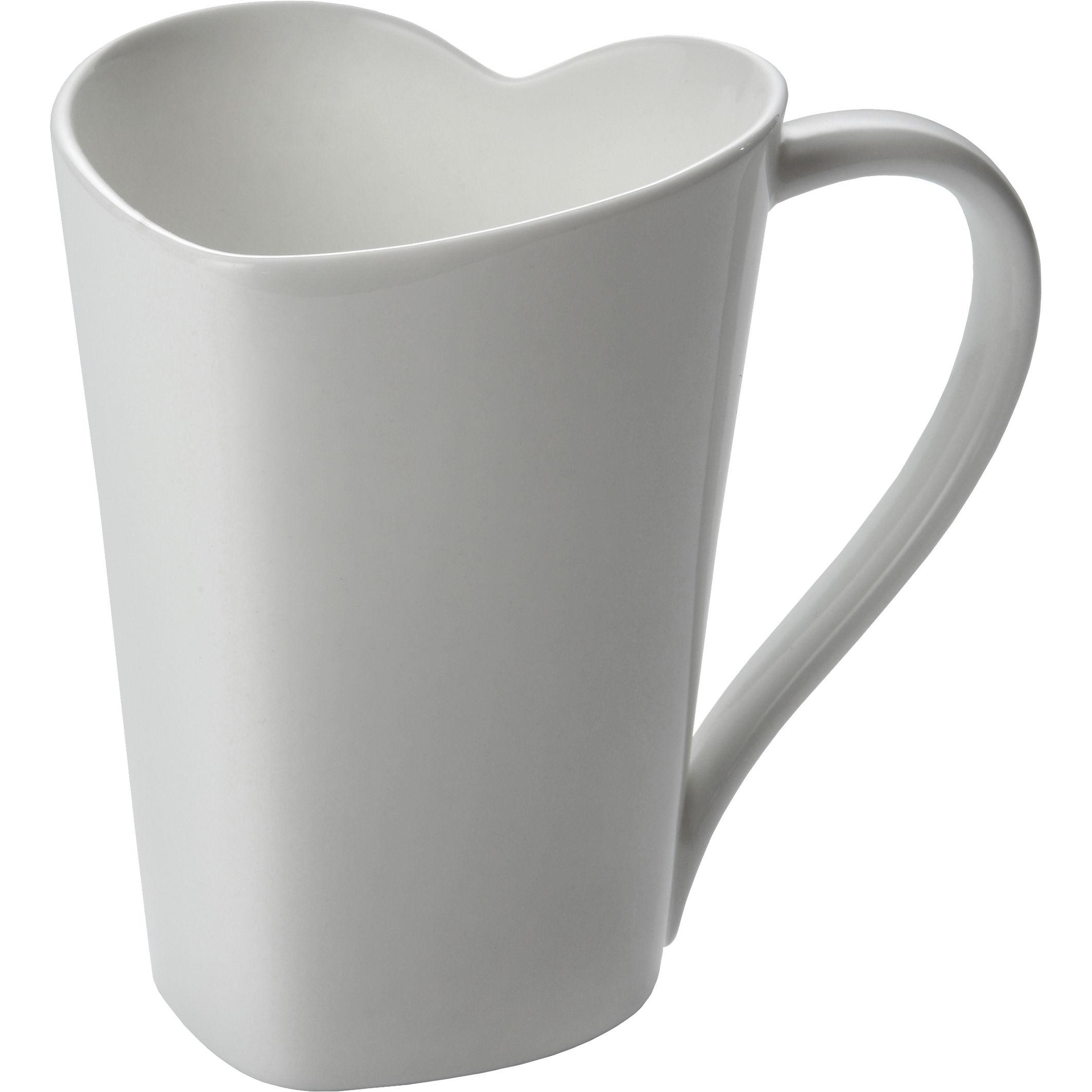 Tableware - Coffee Mugs & Tea Cups - To Mug by Alessi - White - Ceramic