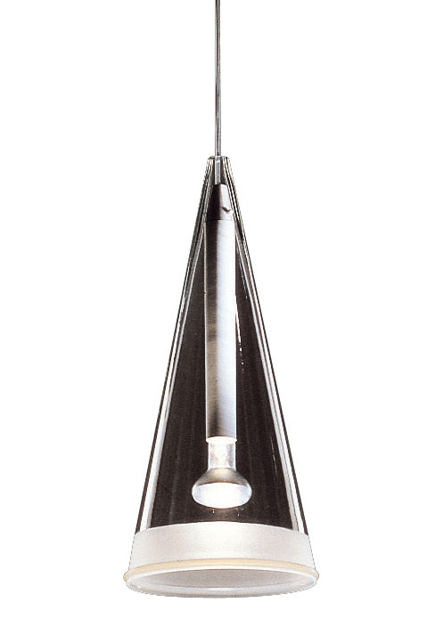 Lighting - Pendant Lighting - Fucsia 1 Pendant by Flos - White - Glass