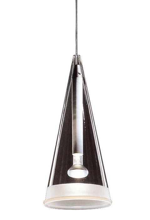 Leuchten - Pendelleuchten - Fucsia 1 Pendelleuchte - Flos - Transparentes Glas - Glas