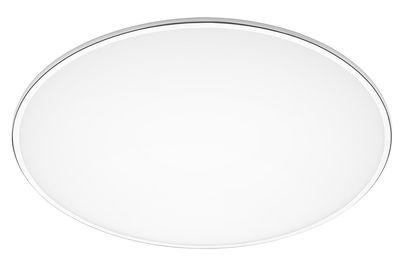 Illuminazione - Plafoniere - Plafoniera Big - / Ø 100 cm di Vibia - Bianco - Alluminio, Metacrilato opalino