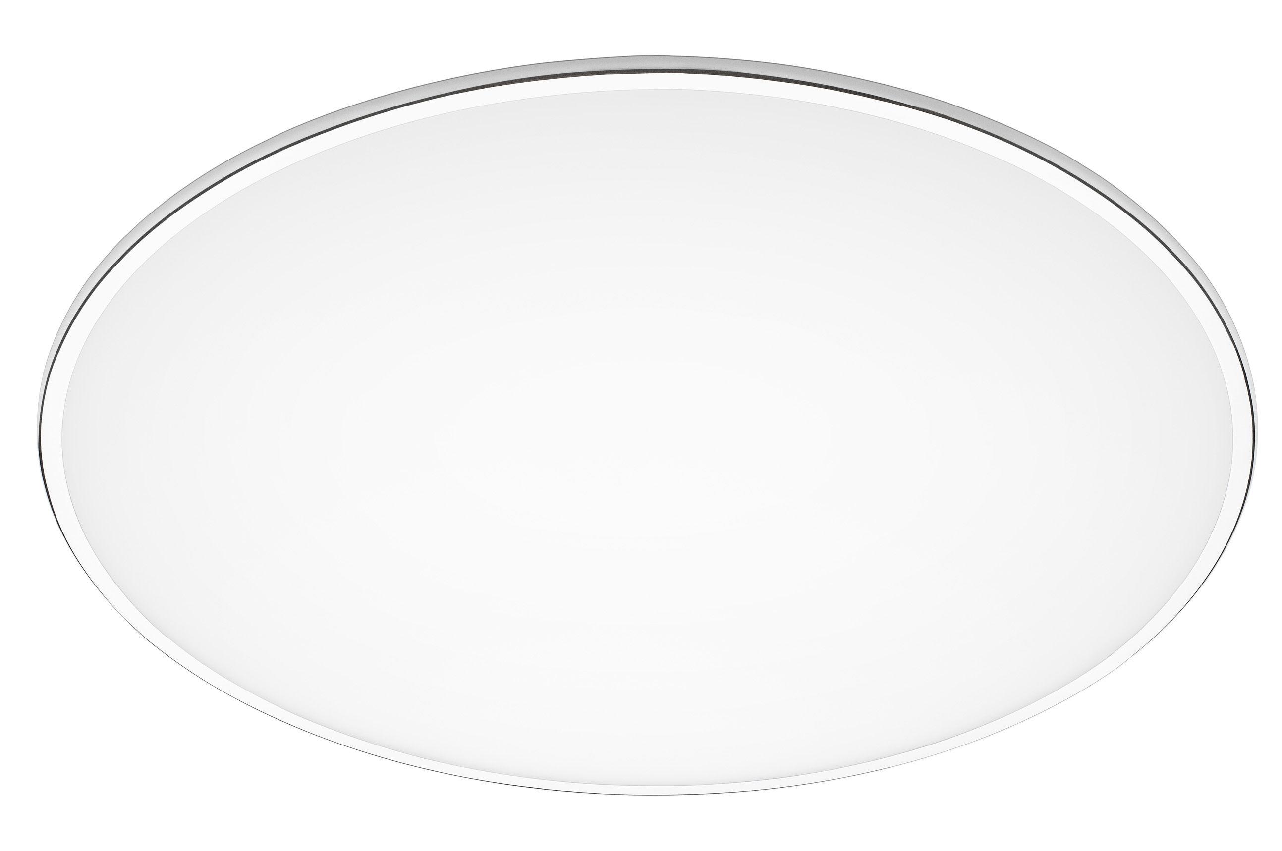 Illuminazione - Plafoniere - Plafoniera Big - / Ø 100 cm di Vibia - Bianco - Alluminio, Méthacrylate opalin