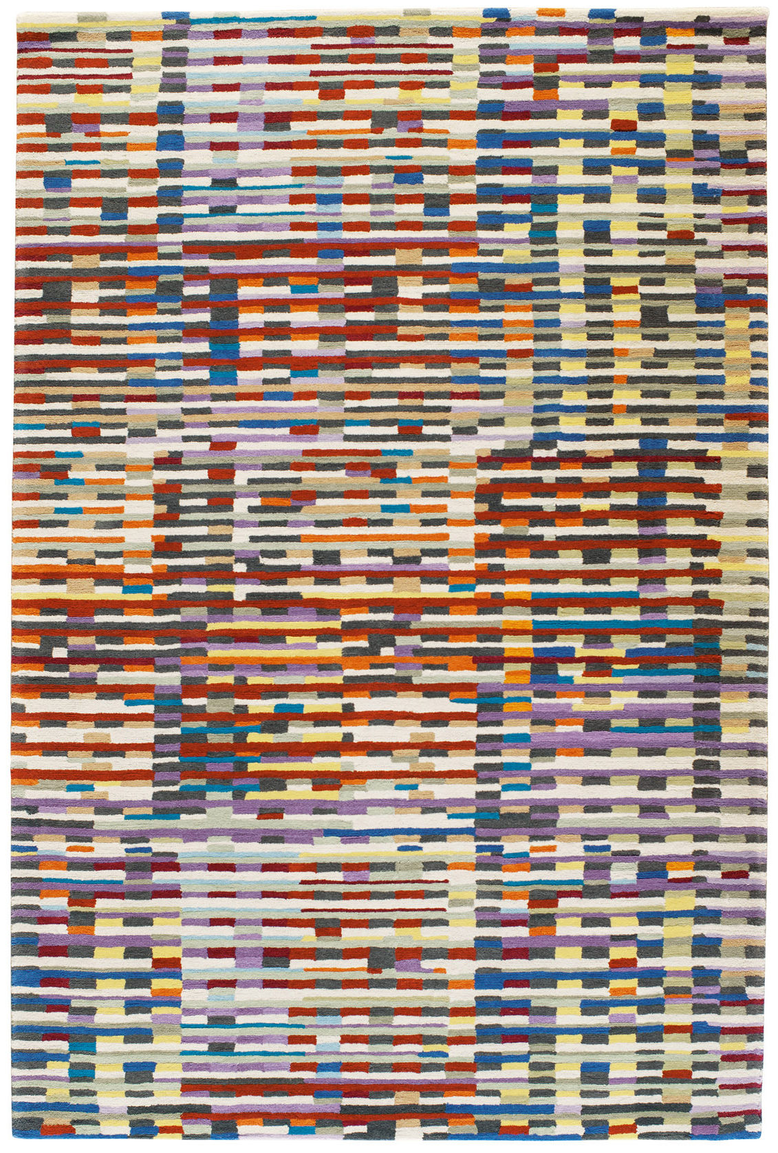 Decoration - Rugs - Cinetic Rug - / 170 x 240 cm - Hand tufted by Toulemonde Bochart - Multicoloured - Wool