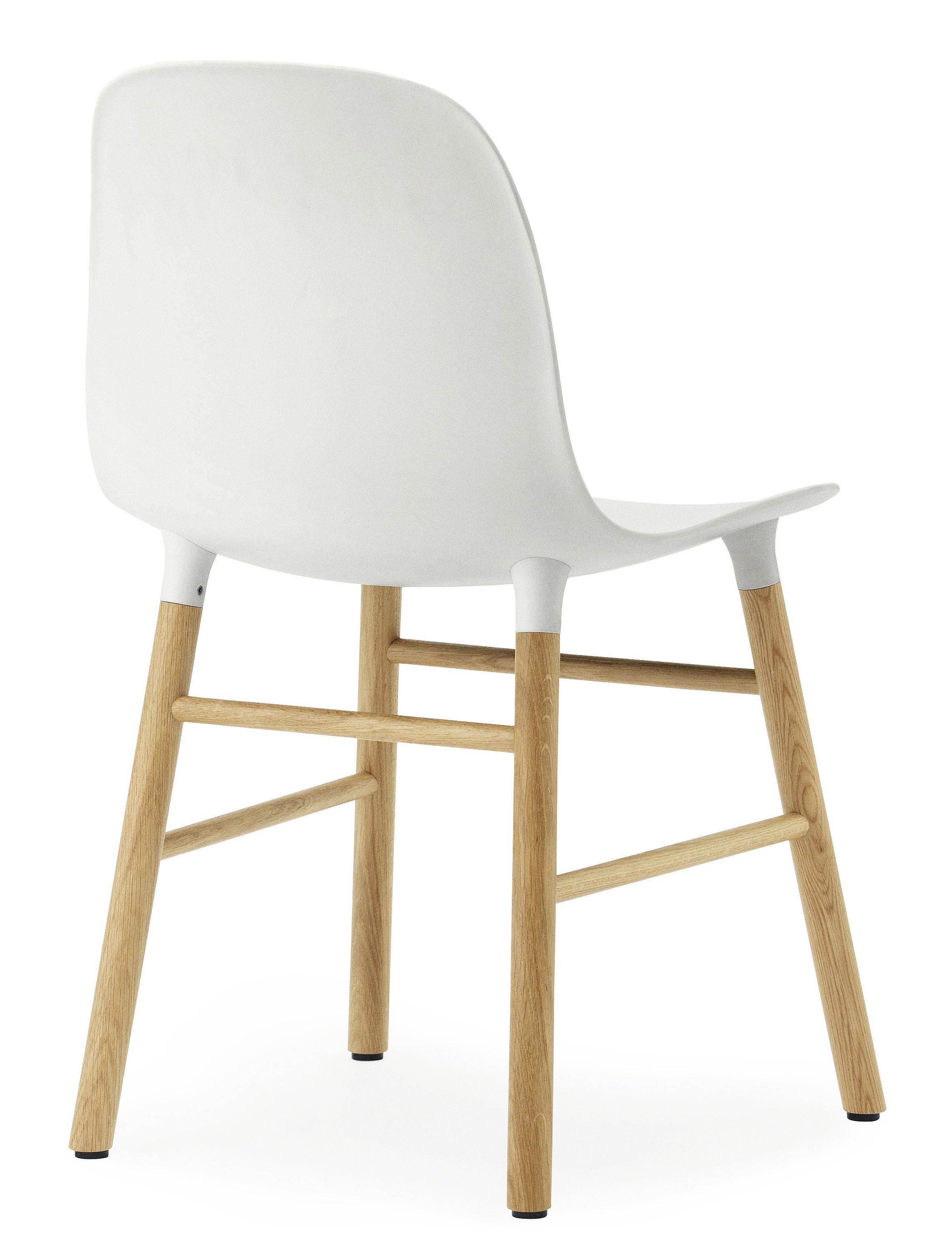 stuhl form von normann copenhagen wei eiche l 48 x h 78 made in design. Black Bedroom Furniture Sets. Home Design Ideas