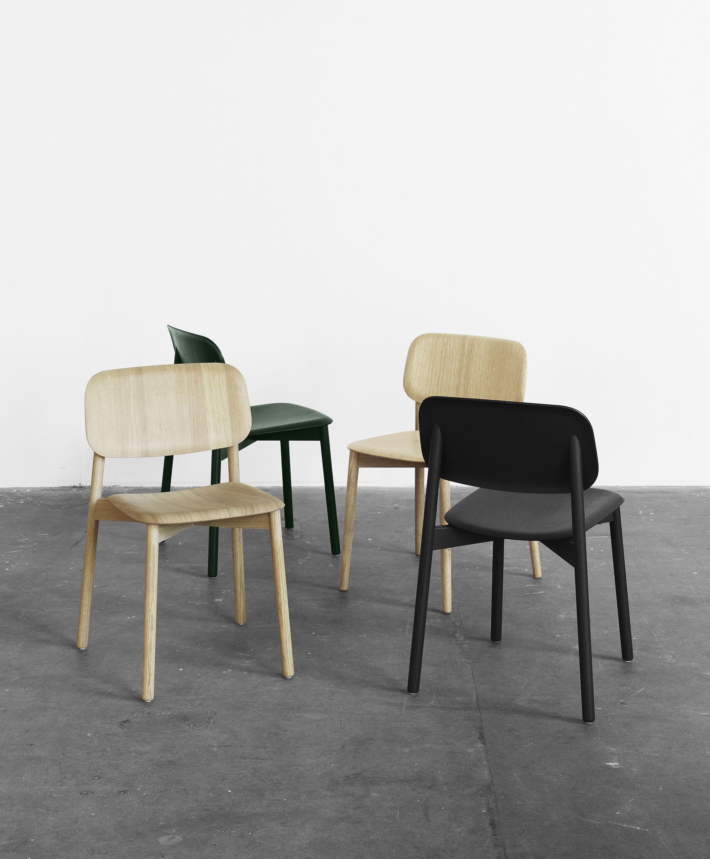 soft edge fu gestell holz hay stuhl. Black Bedroom Furniture Sets. Home Design Ideas