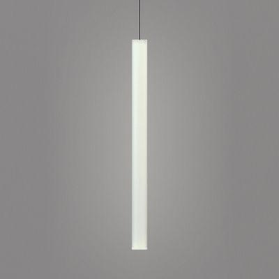 Suspension Flux LED / H 64 cm - Slide blanc en matière plastique