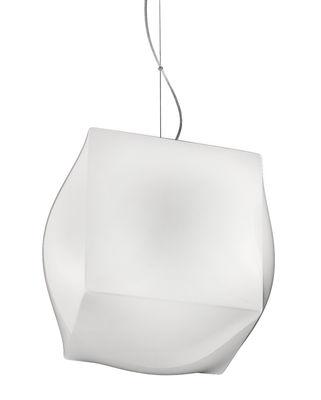 Suspension Macondo Large /  Ø 42 cm - Nemo blanc en métal
