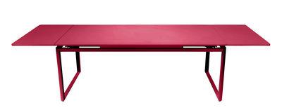 Table à rallonge Biarritz / L 200 à 300 cm - Fermob rose praline en métal