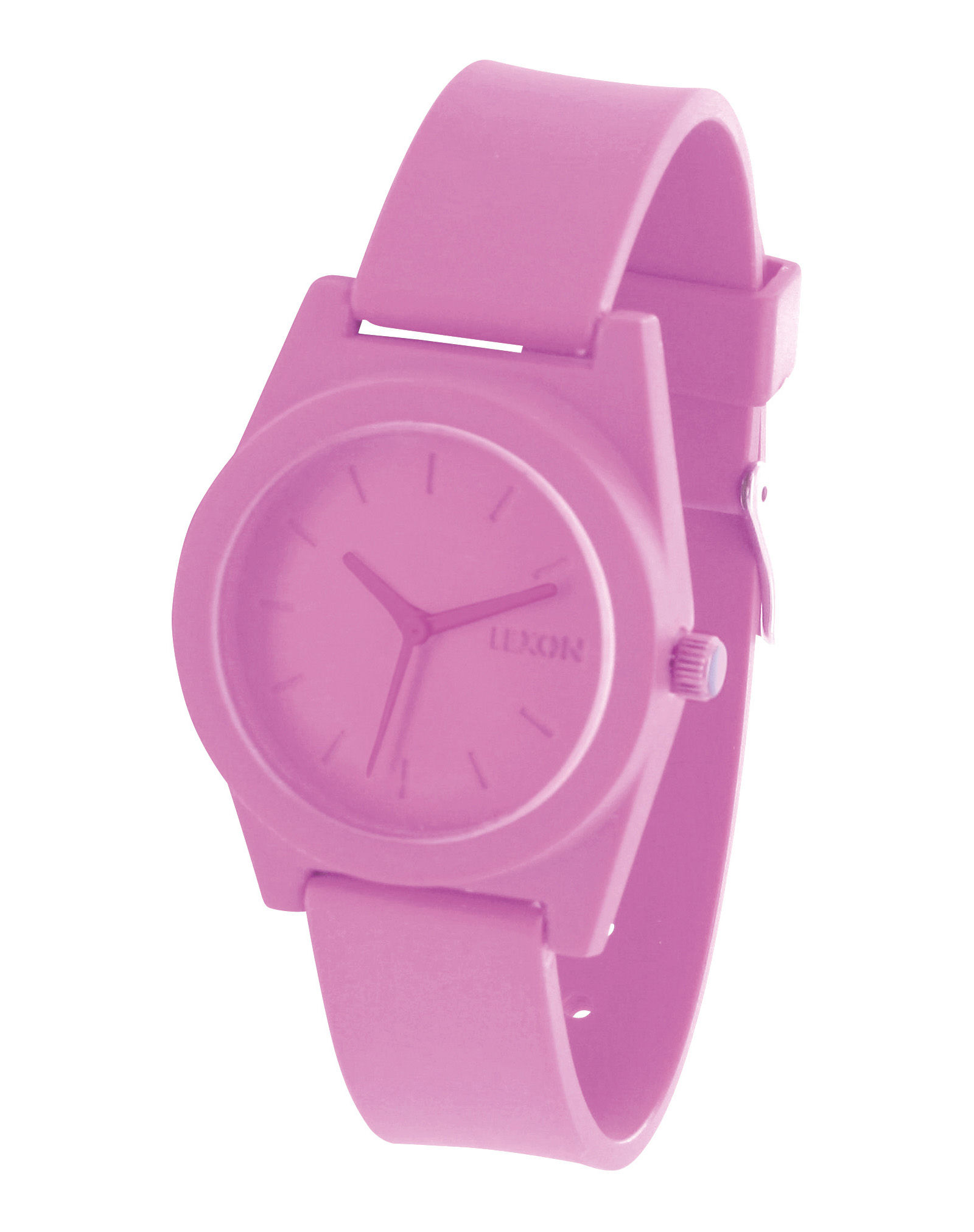 Accessoires - Uhren - Spring Uhr groß - Lexon - Rosa - Polykarbonat