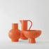 Vase Strøm Small / H 16 cm - Céramique / Fait main - raawii