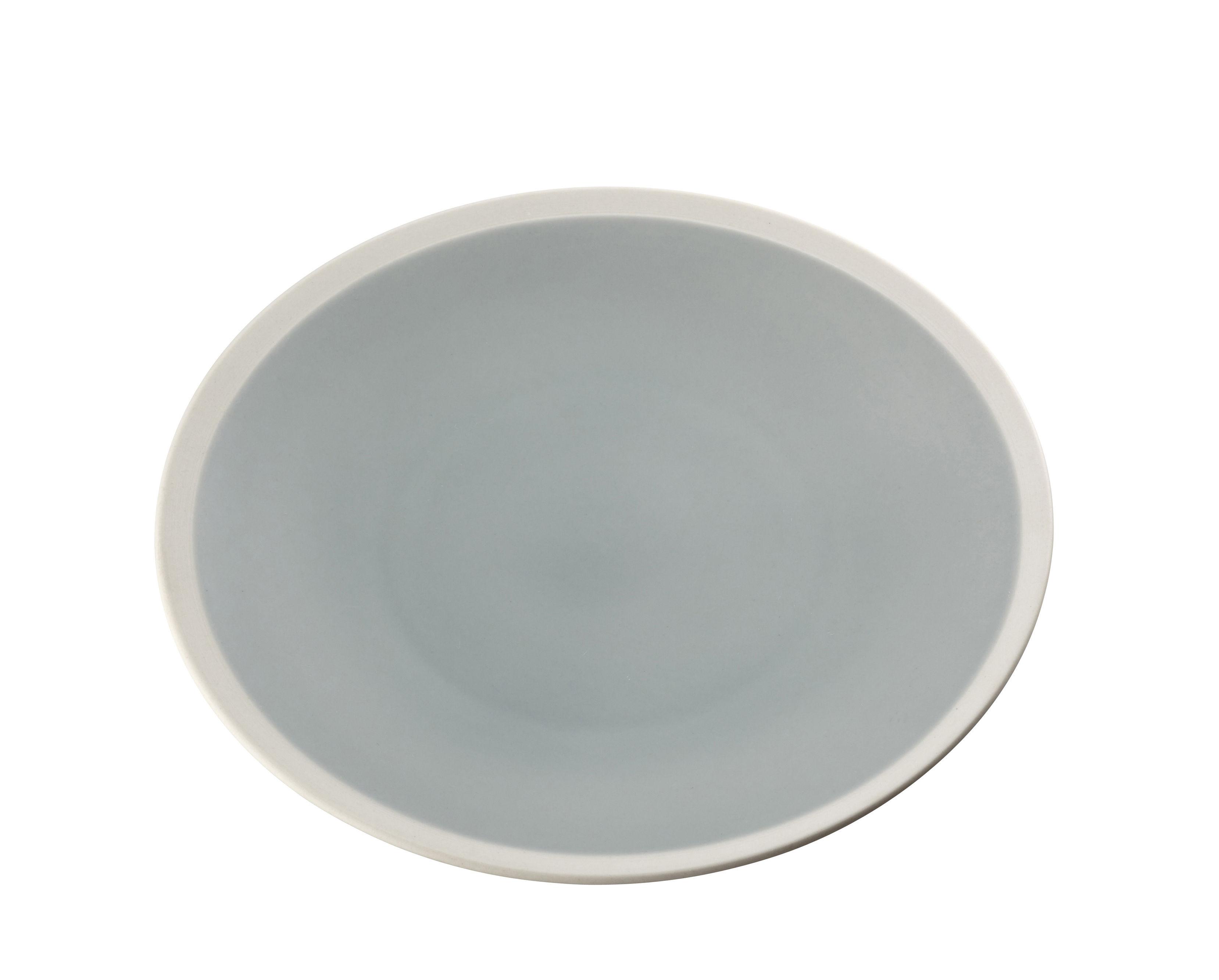 Arts de la table - Assiettes - Assiette à dessert Sicilia / Ø 20 cm - Maison Sarah Lavoine - Pousse de Tilleul / Blanc - Grès peint et émaillé