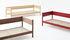 Canapé droit Arbour Eco / 3 places - L 220 cm / Tissu & bois - Hay