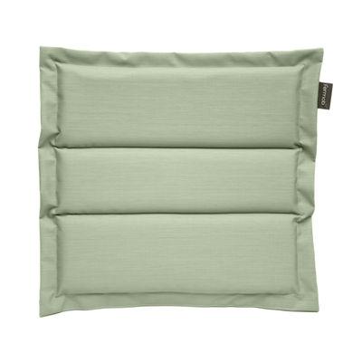 Coussin d'assise / Pour chaise et fauteuil Luxembourg & Monceau - Fermob vert en tissu