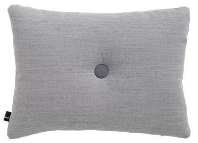 Coussin Dot - Surface / 60 x 45 cm - Hay gris clair en tissu