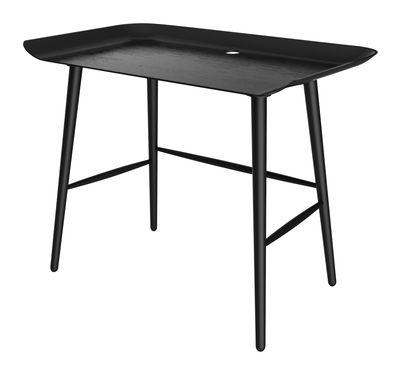Furniture - Office Furniture - Woood Desk - Desk / Side table by Moooi - Black - Beechwood plywood, Natural beechwood