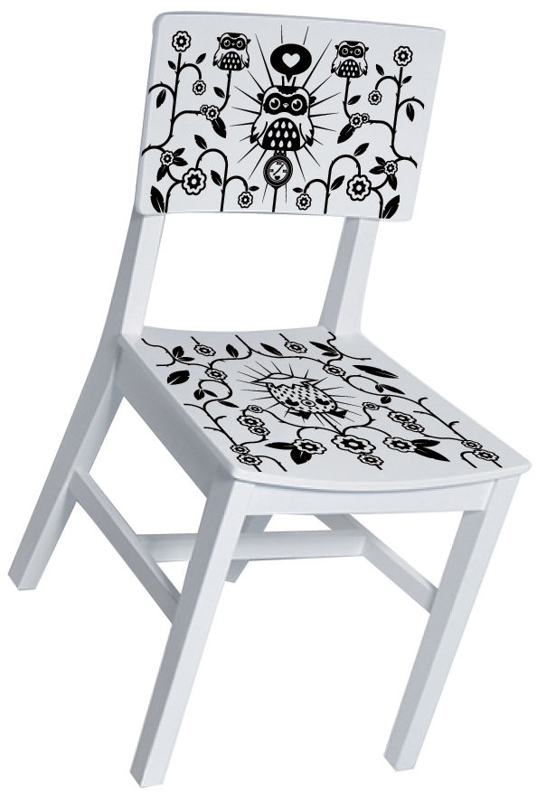 Decoration - Wallpaper & Wall Stickers - Par Tado Furniture sticker - For chairs by Domestic -  - Vinal
