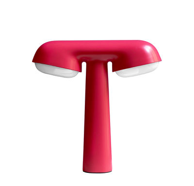 Illuminazione - Lampade da tavolo - Lampada da tavolo TGV - / Edizione limitata, numerata & firmata - 20 anni MID di Moustache - Rosa - Alluminio, policarbonato