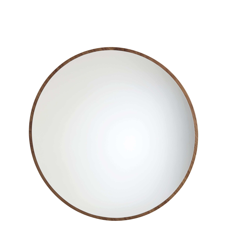 Déco - Miroirs - Miroir mural Bulle Small / Ø 50 cm - Noyer - Maison Sarah Lavoine - Noyer huilé - Bois de noyer huilé, Verre