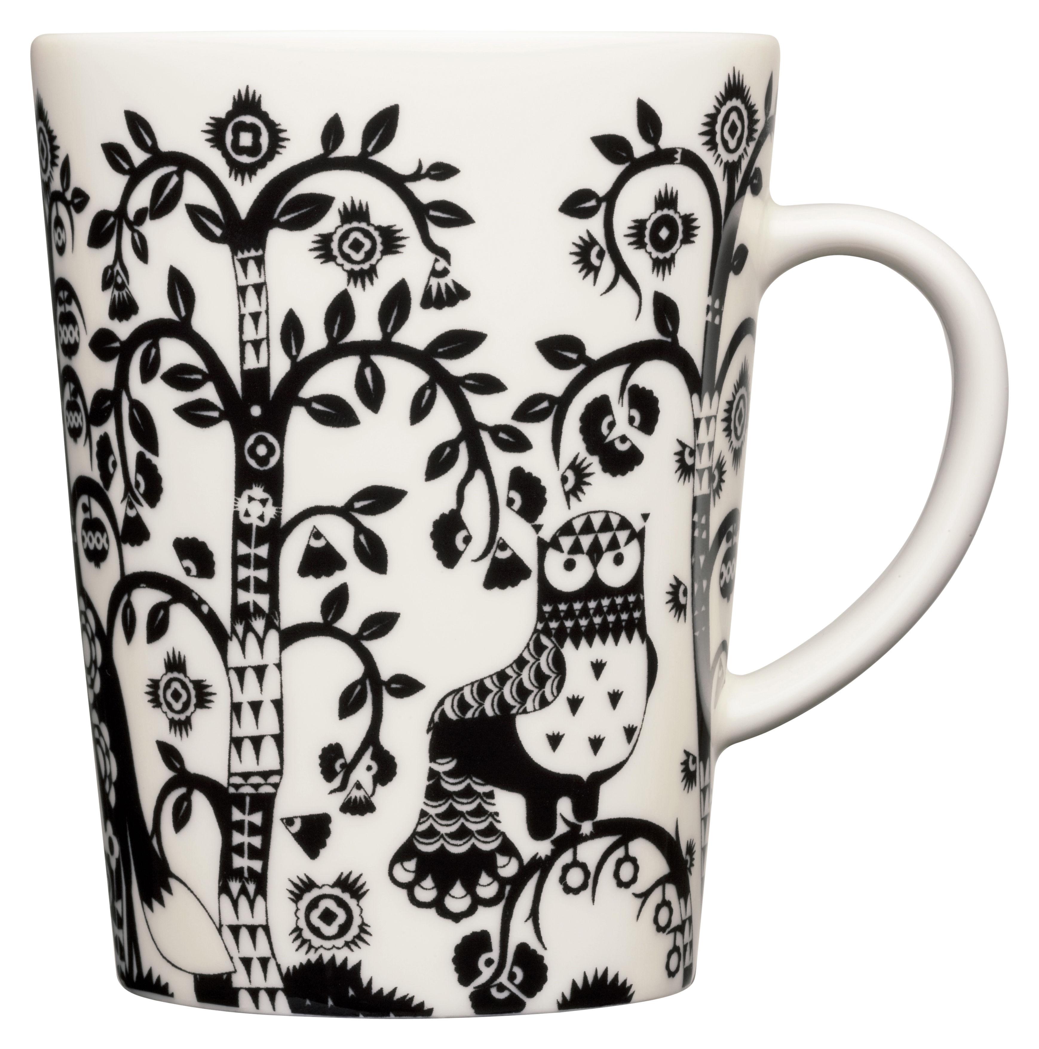 Tableware - Coffee Mugs & Tea Cups - Taika Mug by Iittala - Black - China