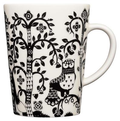 Arts de la table - Tasses et mugs - Mug Taika / 40 cl - Iittala - Noir - Porcelaine