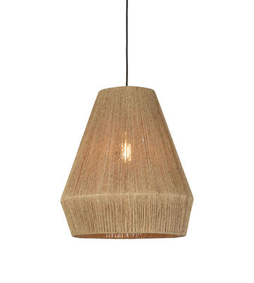 Lighting - Pendant Lighting - Iguazu Small Pendant - / Ø 40 x H 47 cm - Jute by GOOD&MOJO - Small / Natural  - Natural jute