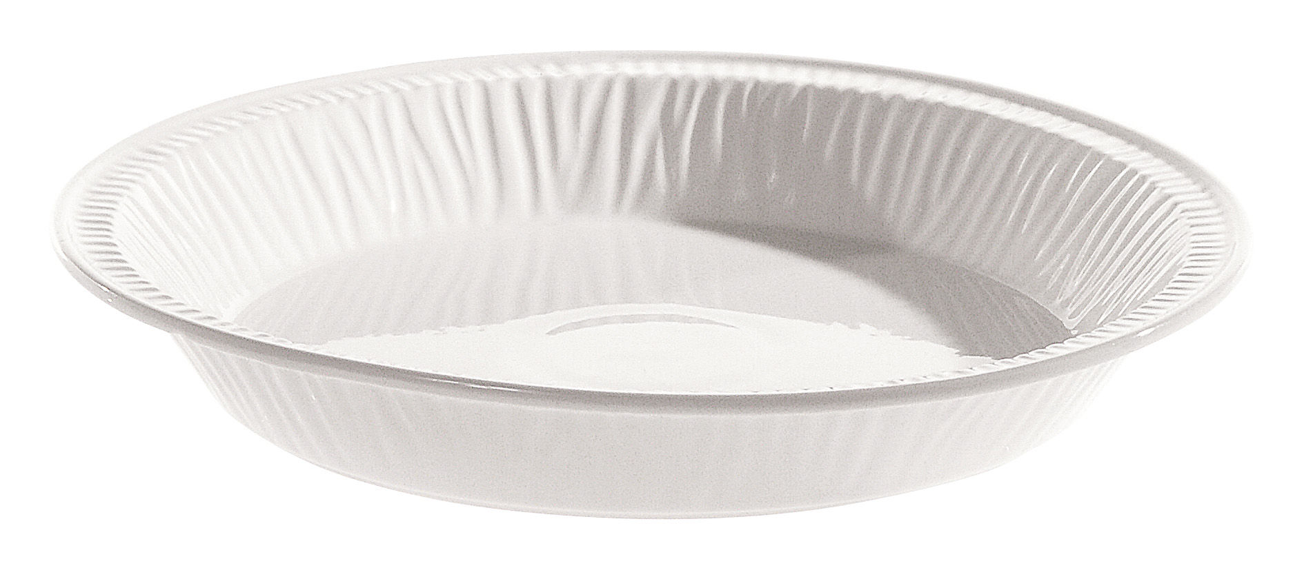 Tavola - Piatti  - Piatto fondo Estetico quotidiano - Ø 23 cm - In porcellana di Seletti - Bianco / Piatto fondo Ø 23 cm - Porcellana