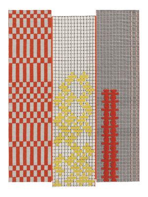 Decoration - Rugs - Bandas Rug - 180 x 250 cm by Gan - Orange - Wool