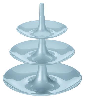 Serviteur Babell / Ø 31,4 x H 34 cm - Koziol bleu pastel en matière plastique