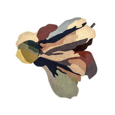 Déco - Tapis - Tapis Flora - Bloom 1 / By Santoi Moix - 150 x 166 cm / Laine - Nanimarquina - Bloom 1 / Multicolore - Laine vierge