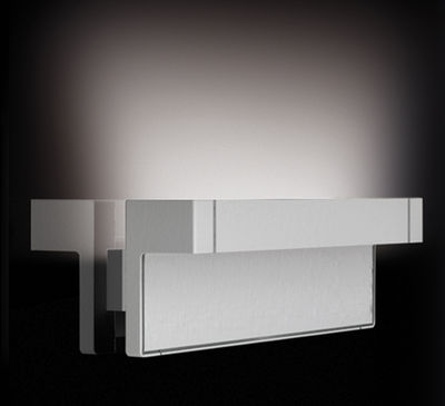 Luminaire - Appliques - Applique Any LED - Luceplan - Blanc - Aluminium peint, Polycarbonate