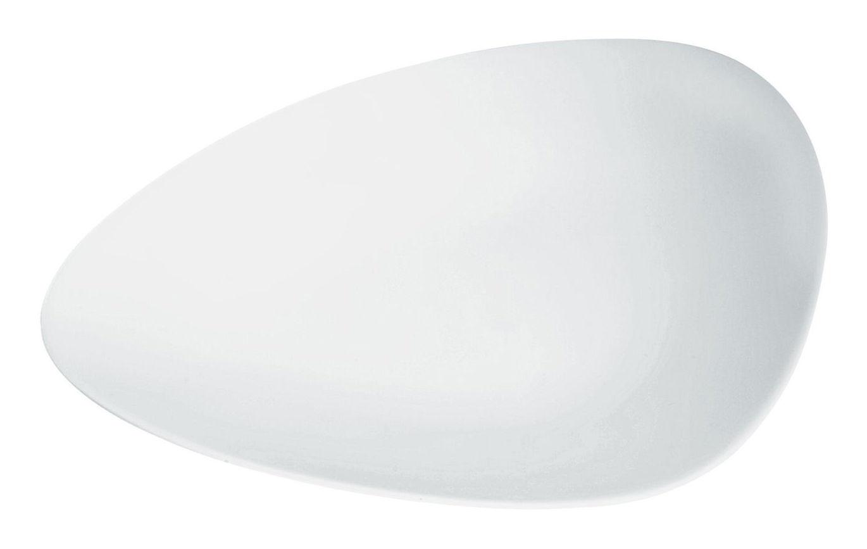 Arts de la table - Assiettes - Assiette à dessert Colombina / L 24 cm - Alessi - Blanc - Porcelaine