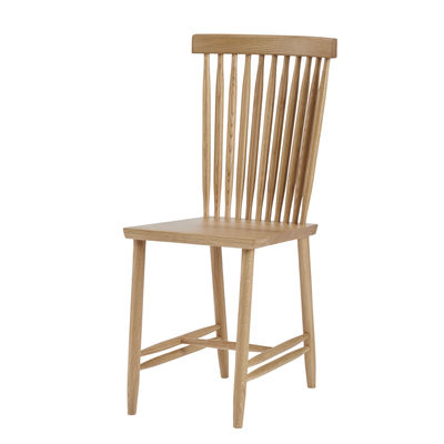 Furniture - Chairs - Family Chair No. 2 Chair - / Solid oak by Design House Stockholm - Oak - Solid oak