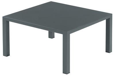 Möbel - Couchtische - Round Couchtisch - Emu - Eisen (dunkel) - Stahl