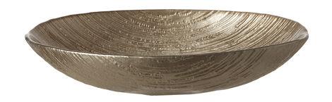 Arts de la table - Plats - Coupe Como Medium / 24 x 16 cm - Verre - Leonardo - L 24 cm / Argent - Verre