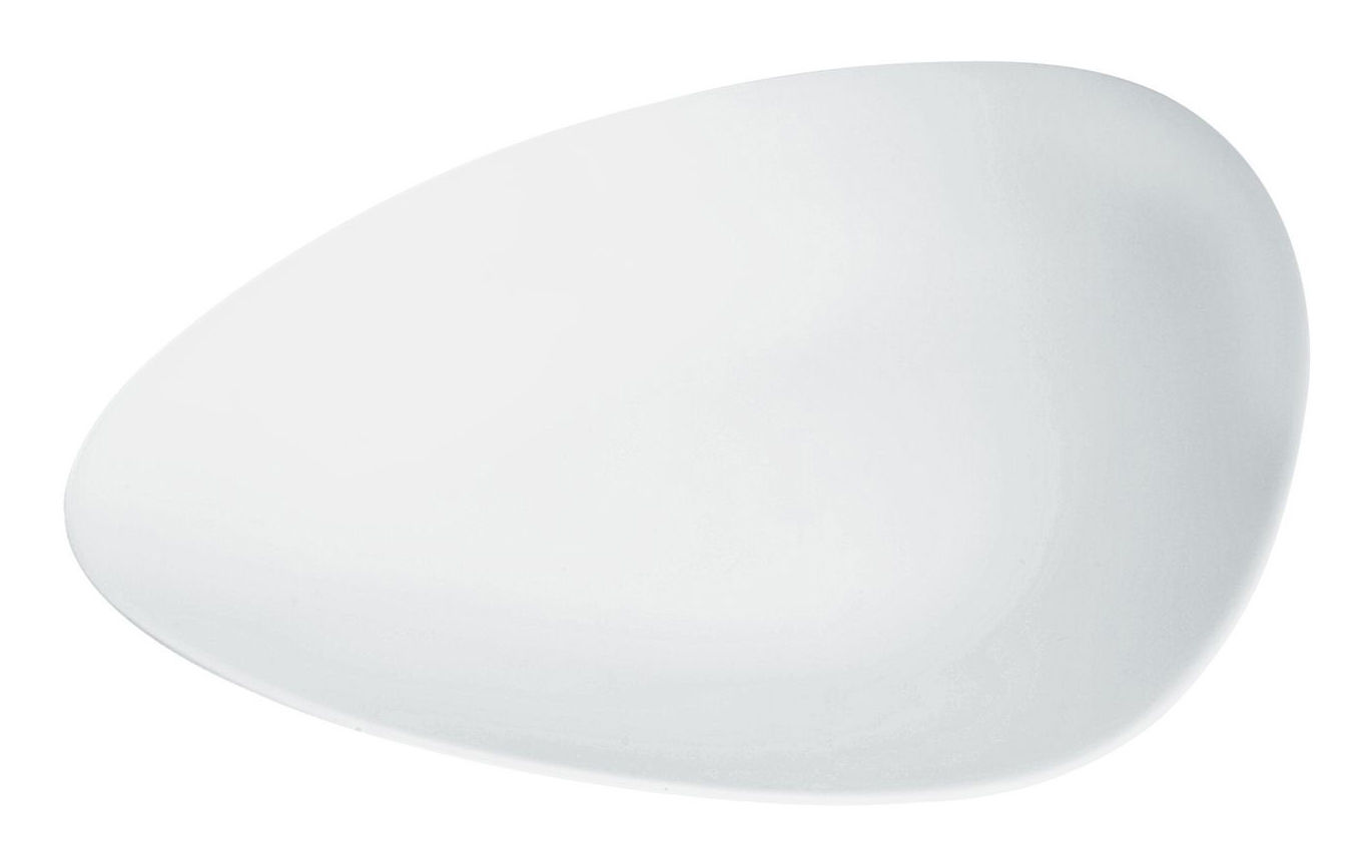 Tableware - Plates - Colombina Dessert plate by Alessi - White - China