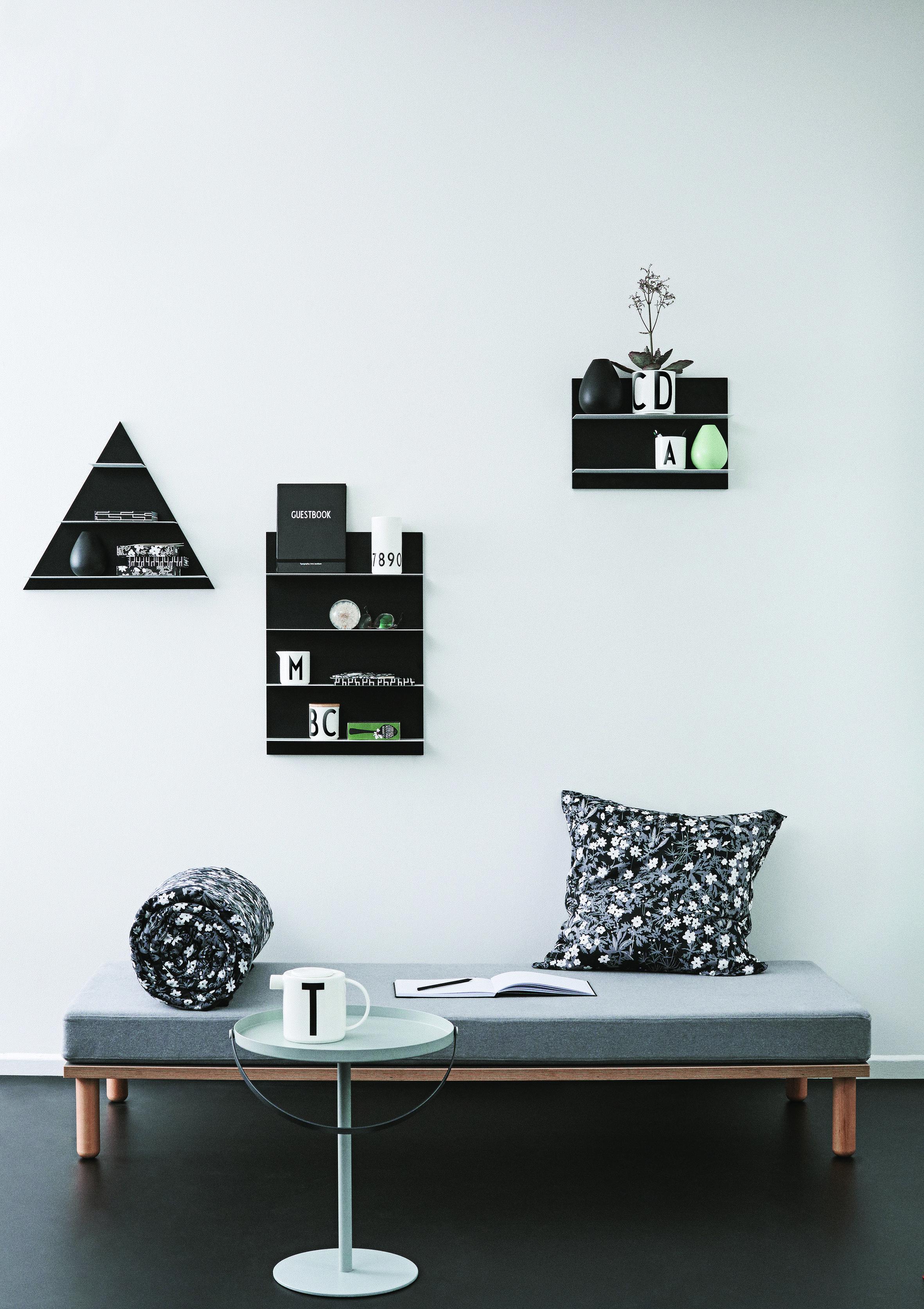 etag re murale paper l 42 x h 59 cm noir design letters made in design. Black Bedroom Furniture Sets. Home Design Ideas