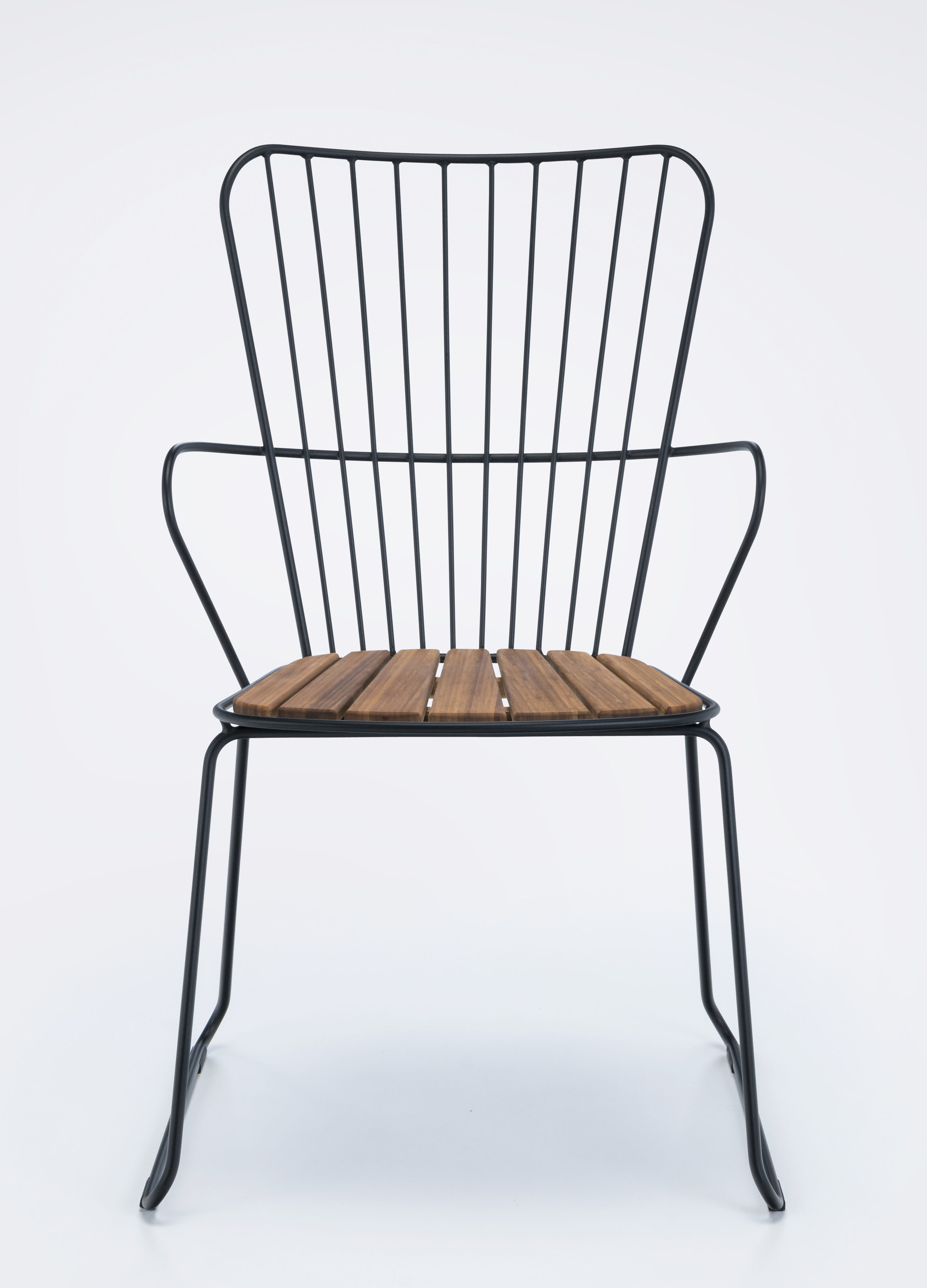 Paon H Noir 55 Design L X 90Made Houe Fauteuil In PuiXkZTO
